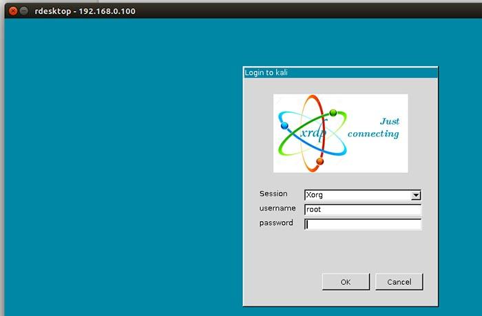 rdesktop-kali-login